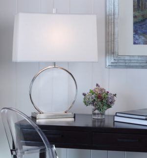 Robert Abbey Circle Desk Lamp s3380-0