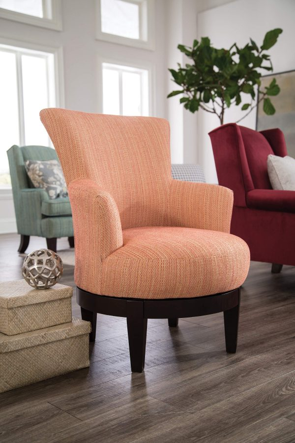 Best Home Furnishings Justine Swivel Chair-0