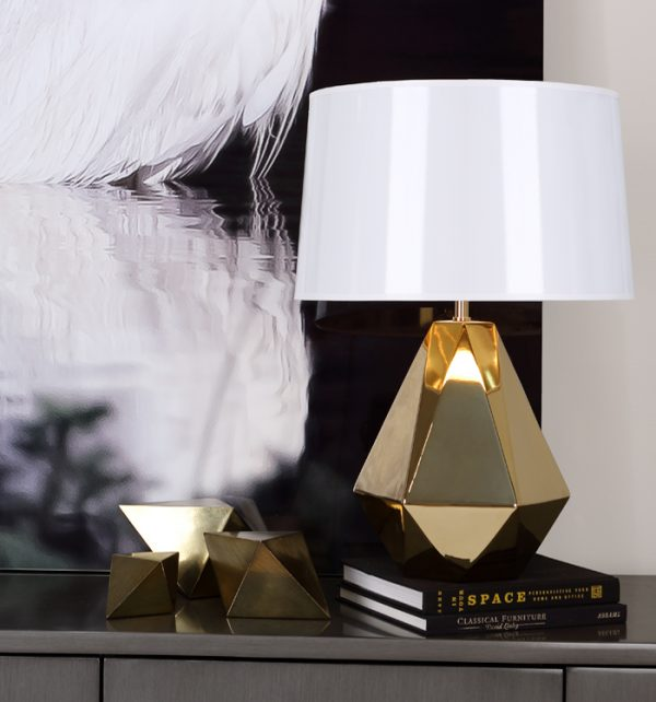 Robert Abbey Gold Lamp g930-0
