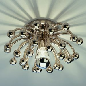 Robert Abbey Metal Orb Ceiling Light s1305-0