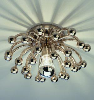 Robert Abbey Metal Orb Ceiling Light s1305-0