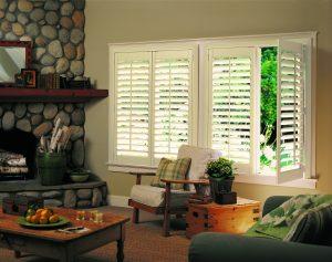 Hunter Douglas NewStyle Hybrid Shutters Living Room-0