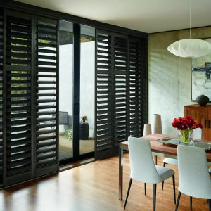 Hunter Douglas NewStyle Shutters Bypass Track-0