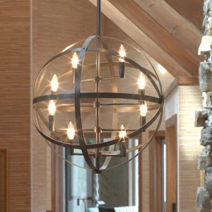 Robert Abbey Sphere Chandelier z2164-0