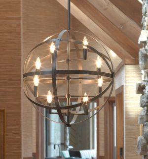 Robert Abbey Sphere Chandelier z2164-0