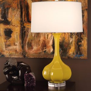Robert Abbey Yellow Lamp ci996-0