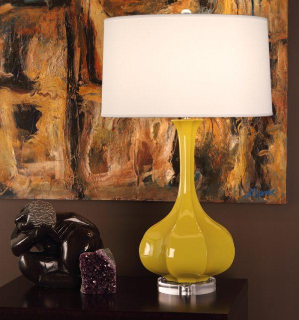 Robert Abbey Yellow Lamp ci996-0
