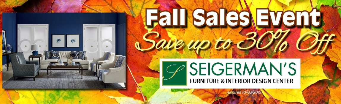 Fall Sales Event 2019