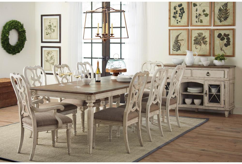 American Drew Southbury Dining Set, American Drew Dining Room Furniture